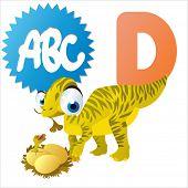 image of dinosaur-eggs  - D is for Dinosaur - JPG