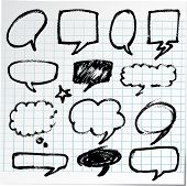 pic of bubble sheet  - Collection of hand - JPG