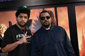 LOS ANGELES - MAY 8:  Ice Cube, son at the