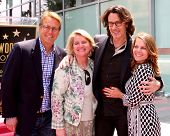LOS ANGELES - MAY 9:  Doug Davidson, Cindy Fisher, Rick Springfield, wife at the Rick Springfield Ho