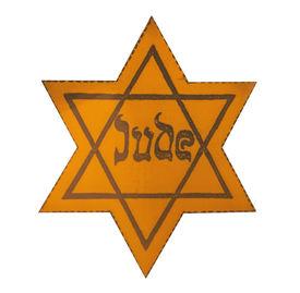 stock photo of segregation  - Jewish Yellow Star  - JPG