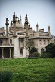 Brighton Royal Pavilion with Cloudy Skies, Brighton, England