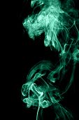 Green wave smoke