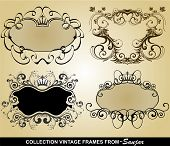 Collection Vintage frames
