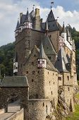picture of moselle  - Picturesque medieval hill castle  - JPG