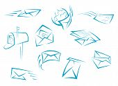 Envelope and mail symbols
