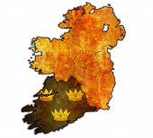 Munster On Map Of Ireland