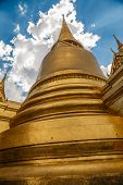 Thai Stupa In Grand Palace - Wat Phra Kaew Thailand