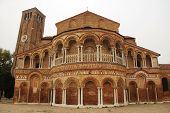 foto of rebuilt  - The Church of Santa Maria e San Donato in Murano Venice Italy - JPG