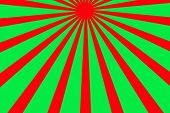 Beautiful Abstract Starburst Background For Christmas