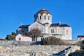Vladimirsky Cathedral in Chersonese Sevastopol