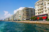 Seafront Of Thessaloniki