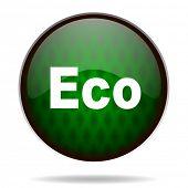 eco green internet icon