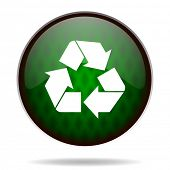 recycle green internet icon