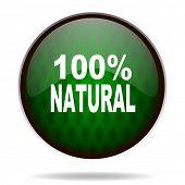 natural green internet icon