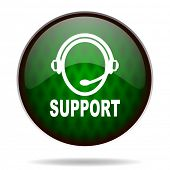 support green internet icon