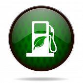biofuel green internet icon