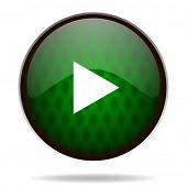 play green internet icon