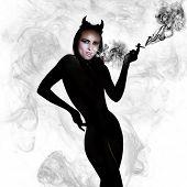 Devil With Cigarette