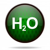 water green internet icon