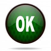 ok green internet icon