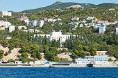 Seafront In Koreiz Resort Area In Crimea