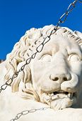 Medici Lion Close Up Near Vorontsov Palace