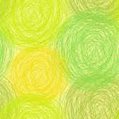 colorful scribble seamless pattern