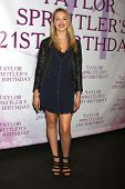 LOS ANGELES - OCT 25:  Sadie Calvano at the Taylor Spreitler's 21st Birthday Party at the CBS Radford Studios on October 25, 2014 in Studio City, CA