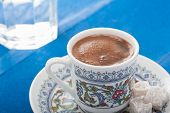 Turkish Coffe Serving