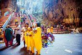 Batu Caves, Malaysia - Jan 18 2014 : Thaipusam At Batu Caves Temple, Malaysia On January 18, 2014. T