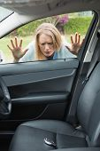 picture of key  - Woman forgot her key inside of her car - JPG