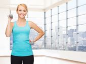image of light weight  - fitness - JPG