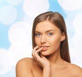 stock photo of lip augmentation  - beauty - JPG