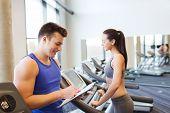 picture of treadmill  - sport - JPG
