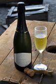 stock photo of sparkling wine  - sparkling wine - JPG