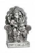 picture of hindu-god  - Figurine of Hindu god of wisdom - JPG