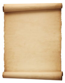 foto of treasure map  - brown blank parchment with a twisting edge - JPG