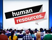 picture of recruiting  - Human Resources Employment Job Recruitment Concept - JPG
