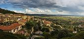 Panoramic view of Cortona