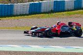 Team Virgin F1, Timo Glock, 2011