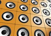 Wall of sound - Orange