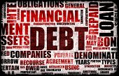 Financial Debt as a Abstract Background Concept