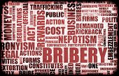 stock photo of bribery  - Bribery in the Government in a Corrupt System - JPG