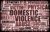 foto of domestic violence  - Domestic Violence Abuse in Many Forms Background - JPG