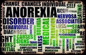 image of anorexia nervosa  - Anorexia Nervosa Eating Disorder as a Concept - JPG