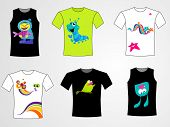 collection of t-shirts design