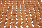 Background Of Ginger Nuts, Dutch Sweets For The Celebration Of Sinterklaas At 5 December