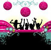 party vector design