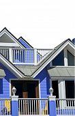 Tropical Blue Coastal Home